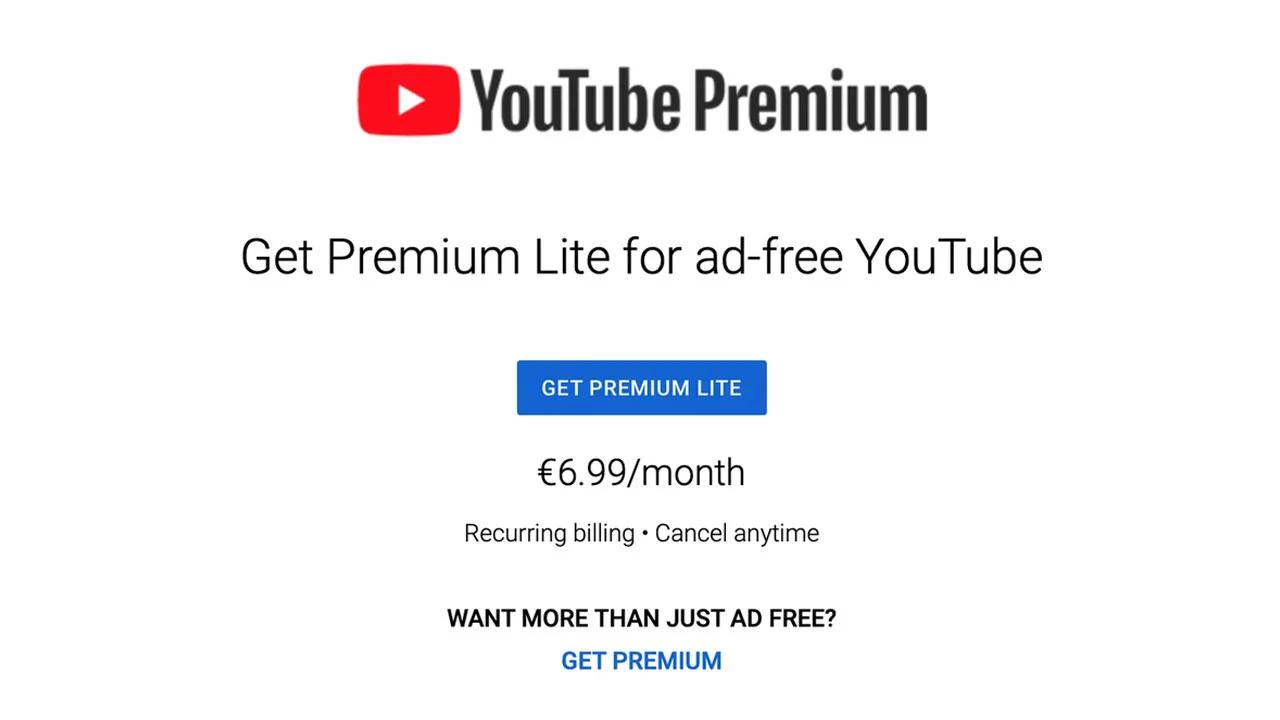 YouTube, Daha Ucuz Bir Premium Paketi Test Ediyor! 1
