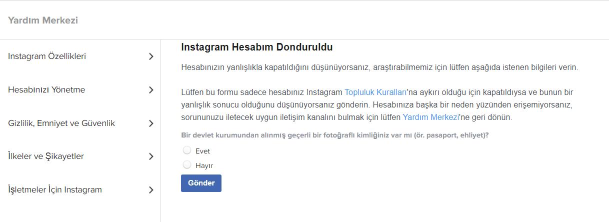 Instagram Hesabım Kapatıldı Sorunu Kesin Çözüm! (Account Disabled) 6