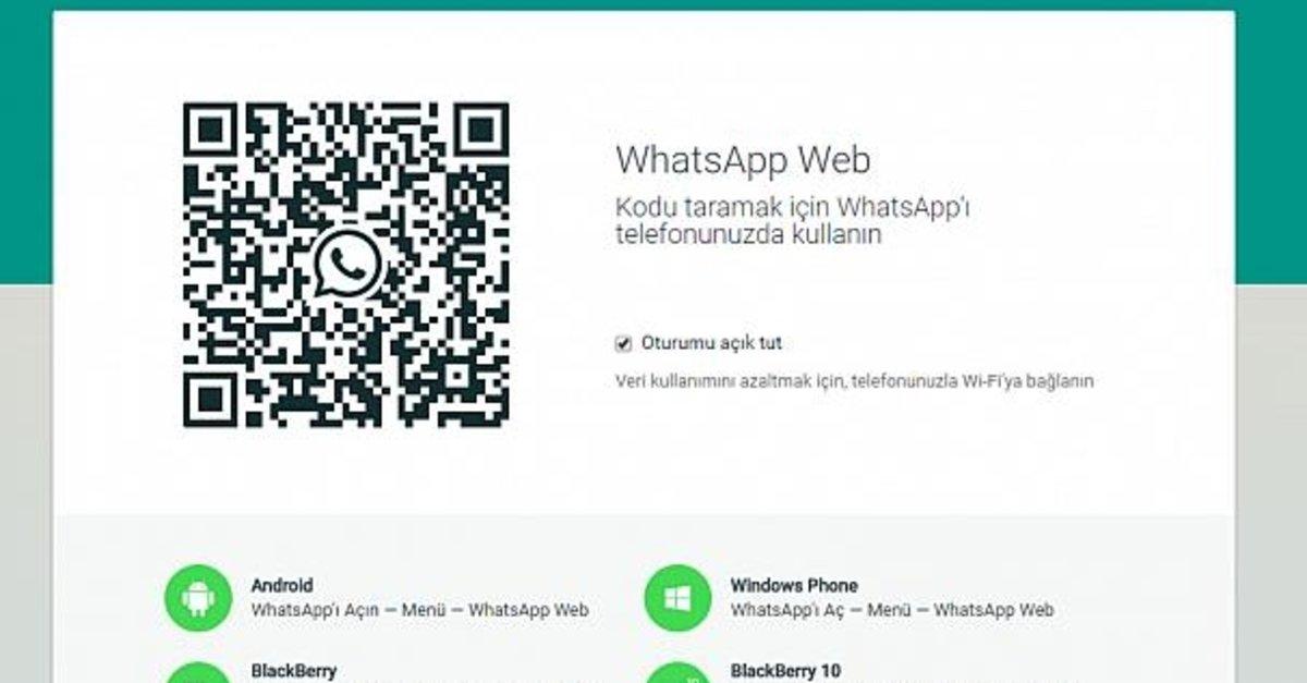 WhatsApp Web QR Kod Çalışmıyor Sorunu Güncel Çözümü! 1