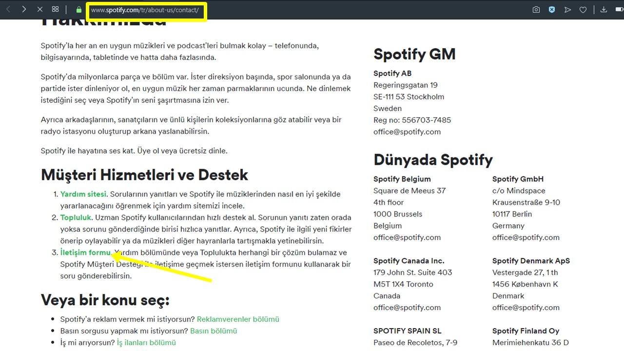 Spotify Hesabı Nasıl Silinir? 1