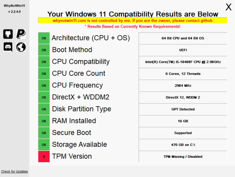 Bilgisayarınızın Windows 11'e Hazır Olup Olmadığı Nasıl Kontrol Edilir? 2