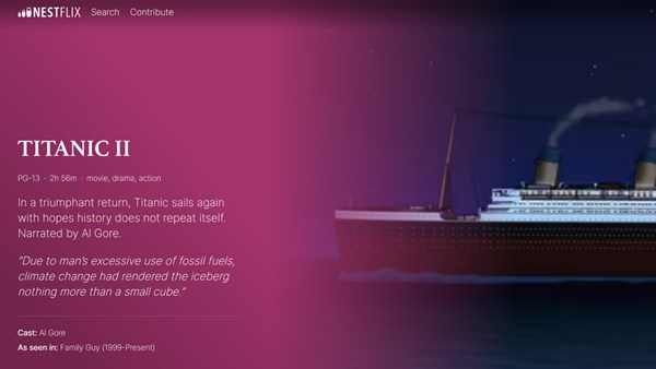 Sahte Filmlerin Ve Dizilerin Bulunduğu Yeni Platform: Nestflix! 1