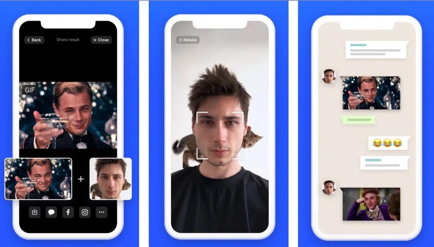 GIF'lere Yüzünüzü Ekleyen Uygulama:Doublicat! 1