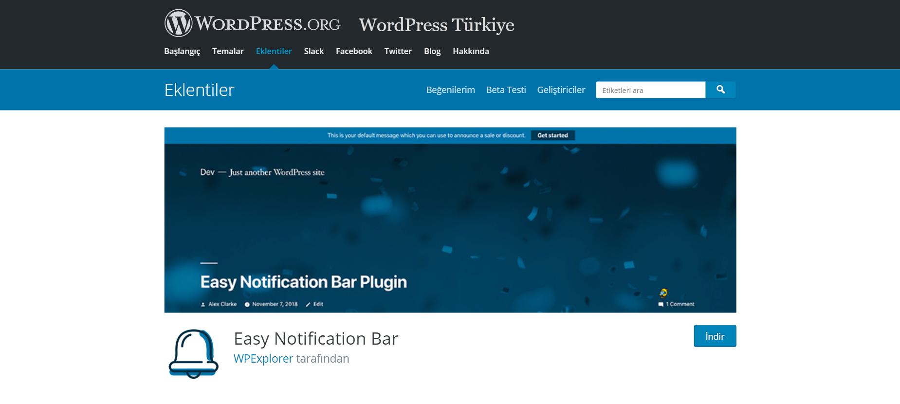 En İyi WordPress Duyuru Eklentileri 1