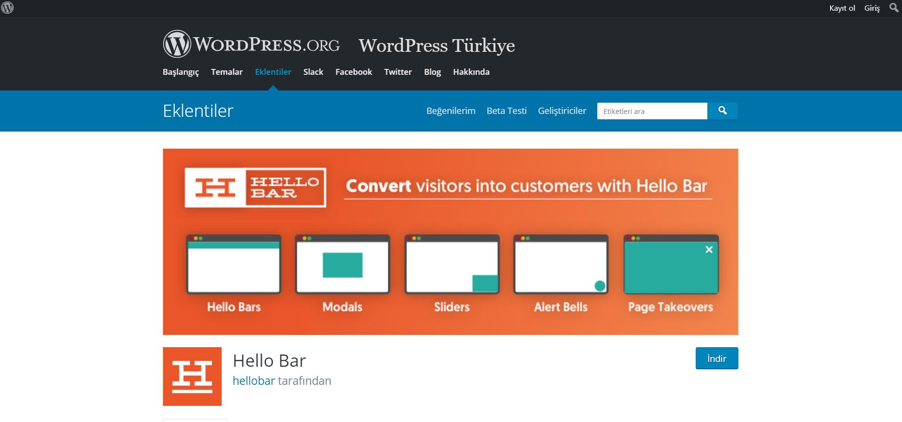 En İyi WordPress Duyuru Eklentileri 2