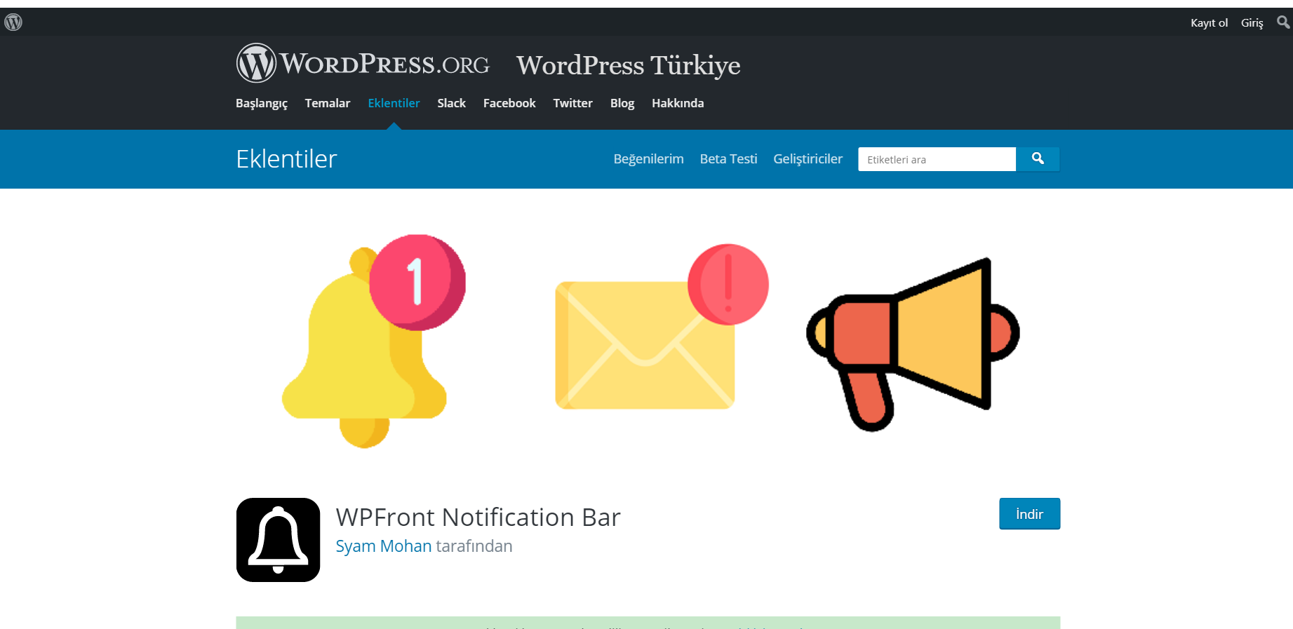 En İyi WordPress Duyuru Eklentileri 3