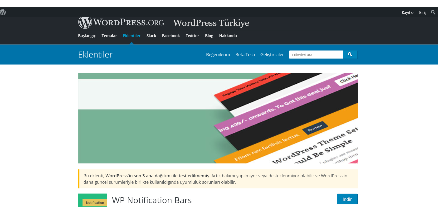 En İyi WordPress Duyuru Eklentileri 4