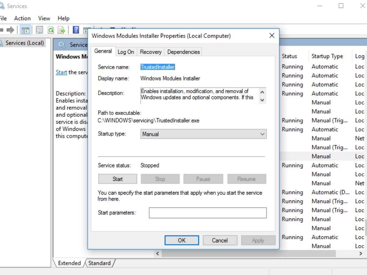 Windows Modules Installer Worker Nasıl kapatılır? 4