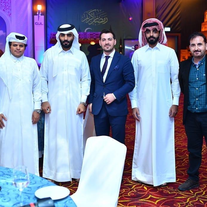 Gül İnşaat Katar'da Düzenlediği Yemekte Önemli Misafirler Ağırlayarak Büyük Beğeni Topladı 1