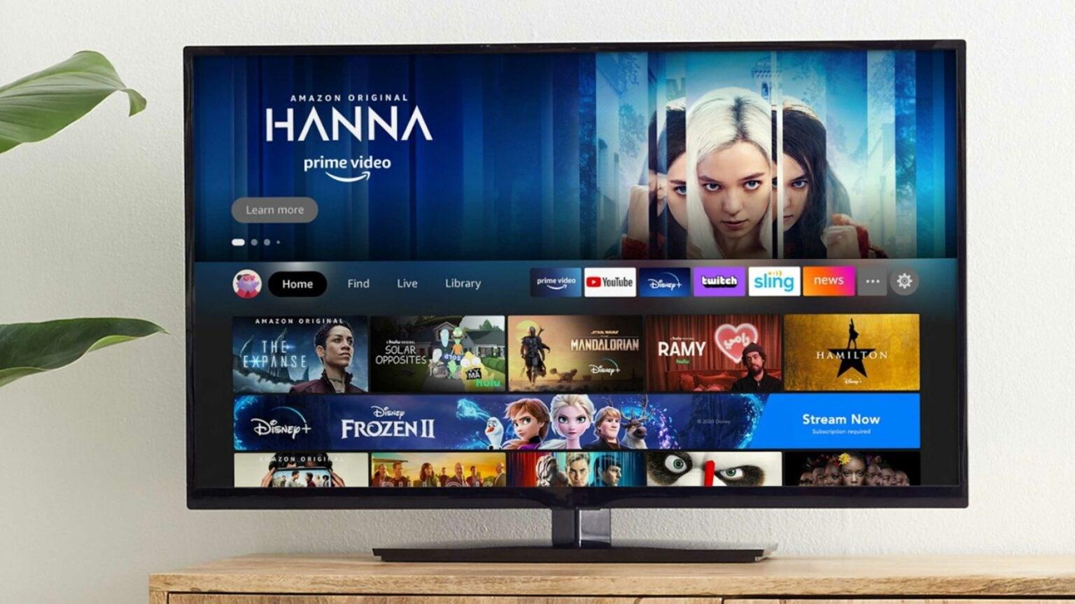 Amazon, Piyasaya Akıllı Televizyonlar Sürmeye Hazırlanıyor! 1