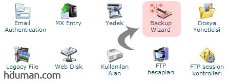 CPanel Tam Yedek (Full Backup) Alma 2