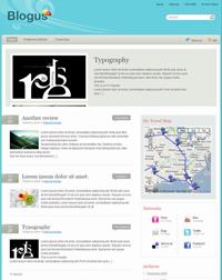 Wordpress Blogus Teması 1