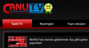 İşte Size Canlı Tv İzlemek İçin Çok Kolay Bir Yöntem! 1