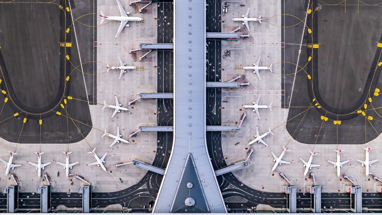 Avrupa'nın En 'Yoğun' Havalimanı, İstanbul Havalimanı Oldu! 1