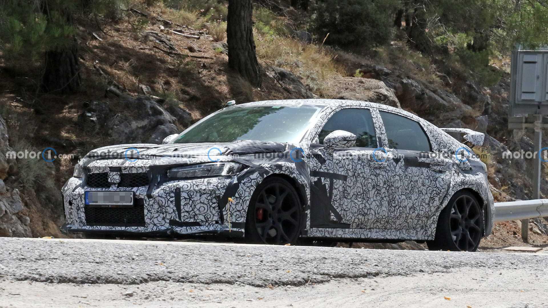 2022 Honda Civic Type R Sızıdırıldı! 1