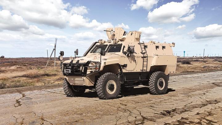 Otokar Yeni Zırhlı Araçlarını Tanıttı! 2