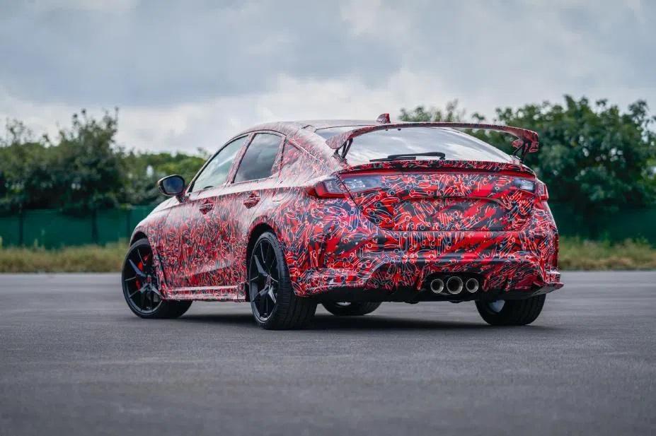 2022 Honda Civic Type R Sızıdırıldı! 2