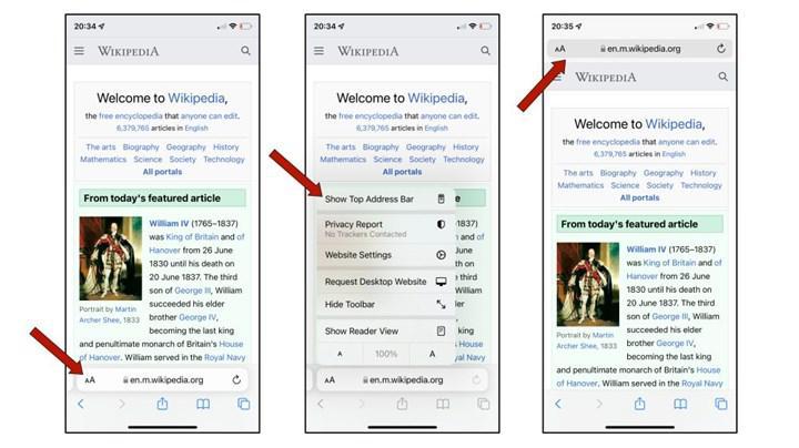 Safari Adres Çubuğu Yeri iOS 15'te Nasıl Değiştirilir? 1