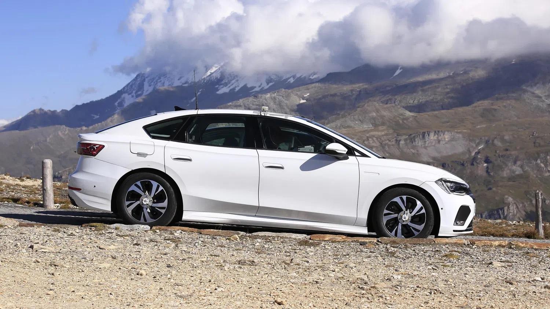 Volkswagen'in Elektrikli Sedanı İlk Kez Görüntülendi! 2
