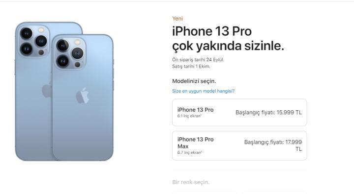 iPhone 13 Türkiye Fiyatları Açıklandı! İşte Detaylar 1
