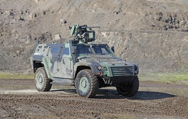 Otokar Yeni Zırhlı Araçlarını Tanıttı! 1