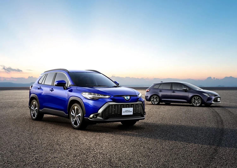 Toyota Corolla Cross Japonya Versiyonu Tanıtıldı İşte Detaylar! 5