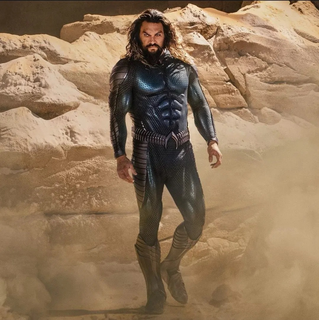 Aquaman 2'den Resmi Görsel Geldi: İşte Aquaman'in Yenilenen Kostümü! 1