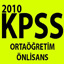 Ortaöğretim ve Önlisans KPSS 1