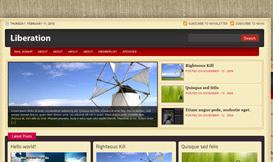 Wordpress Liberation Teması 1