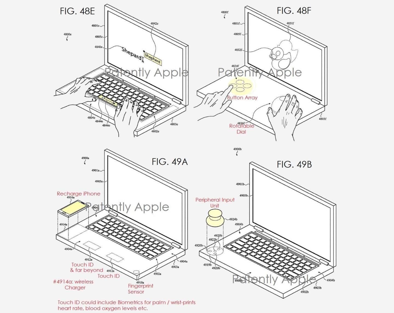 Apple, Çift Ekranlı MacBook Patentini Aldı! 2