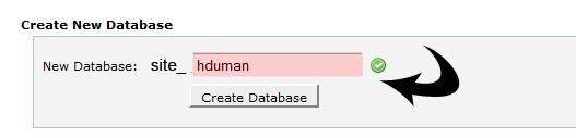 cPanel MySQL Oluşturma 3