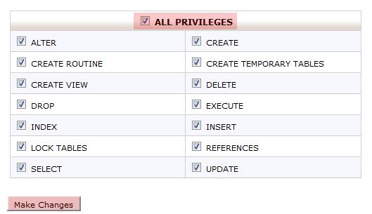 cPanel MySQL Oluşturma 6