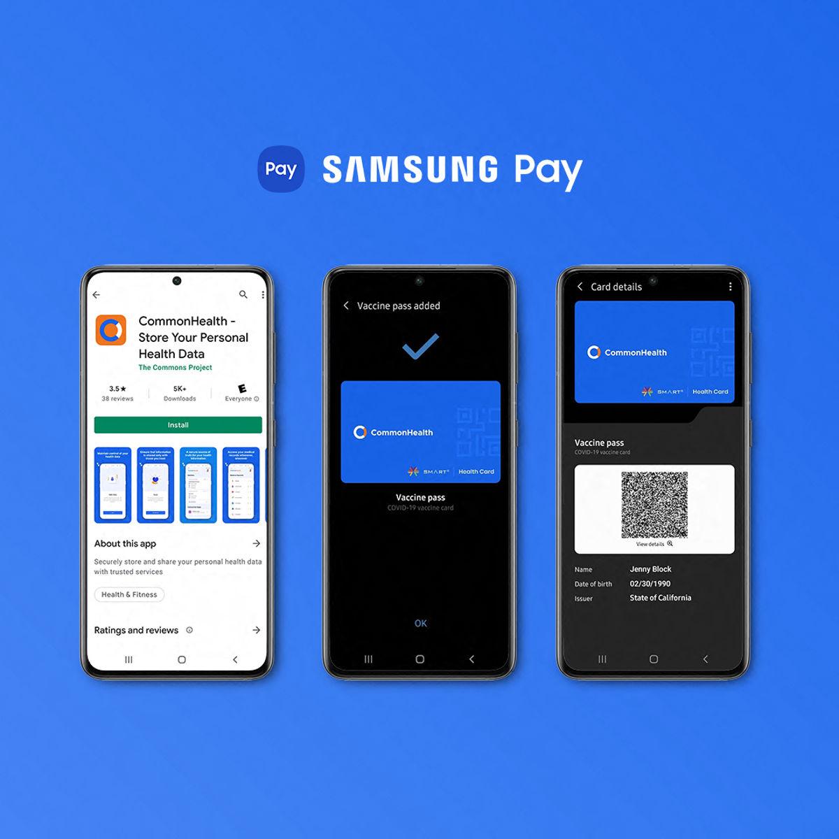 COVID-19 Aşı Kartları Yakında Samsung Pay'de Saklanabilecek 1