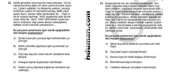2006 Kpss Önlisans Genel Yetenek Soruları 12