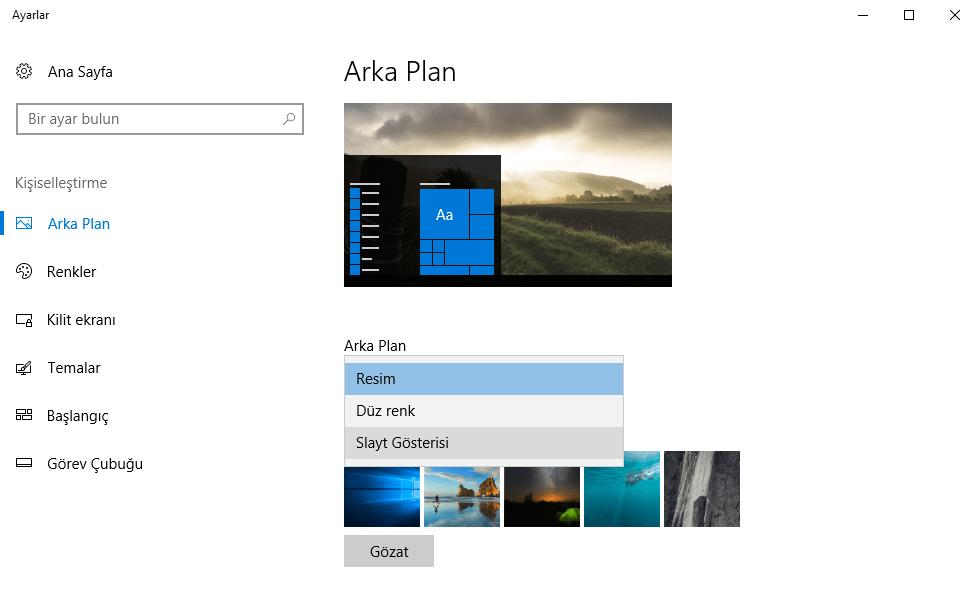 Windows 10'da Olup Windows 11'de Olmayan Özellikler 4