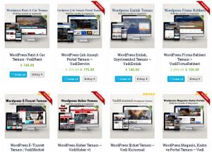 Wordpress'in Artısıyla Binlerce Tema 1