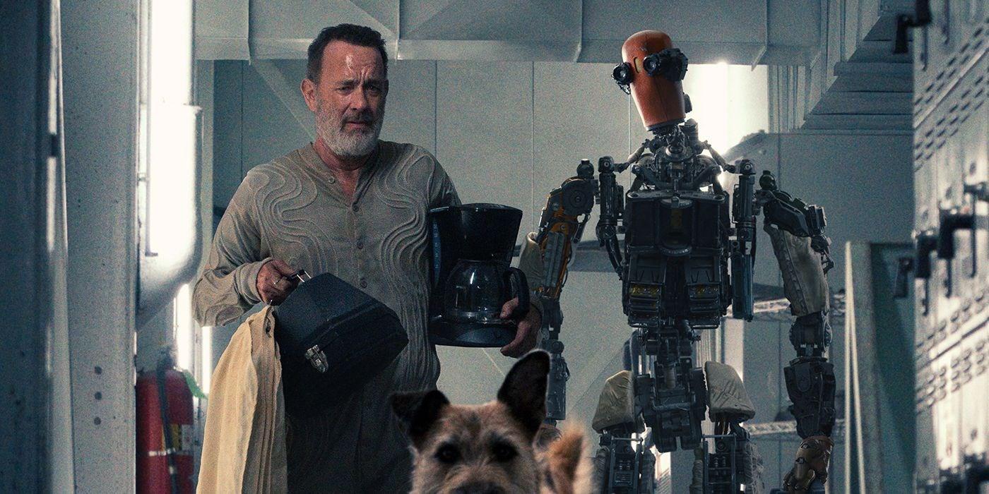 Tom Hanks'ın Başrollünde Olduğu Apple TV+'ın Bilim Kurgu Filmi Finch'ten İlk Fragman Paylaşıldı! 1