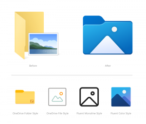 Windows 10, Yeni Güncellemeyle Simgelerini Değiştirecek 2